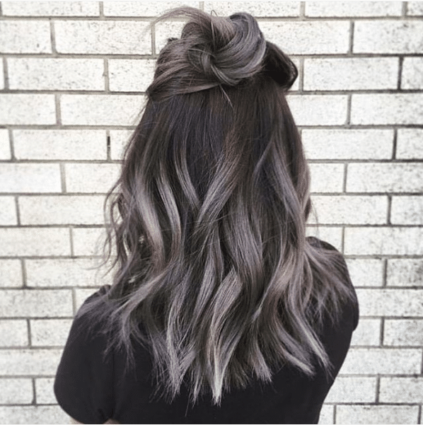 ombre hair color trends #grannyhair styles