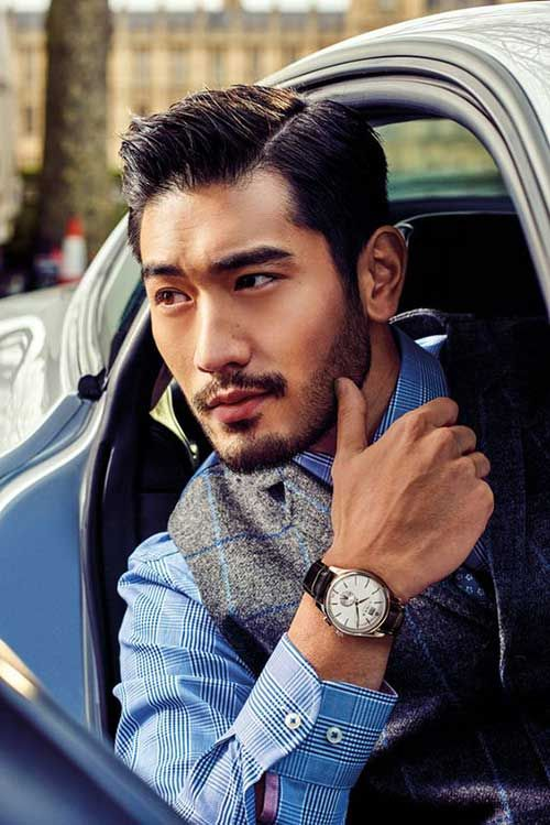 short asian mens hairstyles with designs