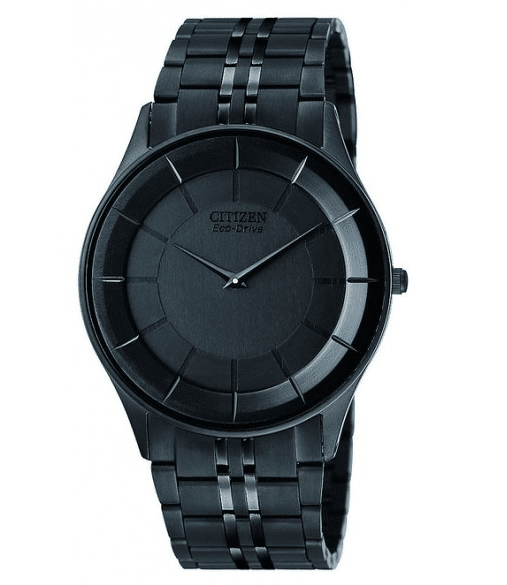 Citizen Mens AR3015-53E Eco-Drive Stiletto Black Dress Watch-12 Black Watches Which Would Make You Drop Your Jaw-5