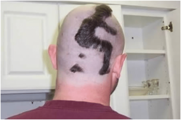 Man on head-10 Weirdest Hair Style For Man-3