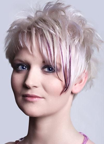 Short Spiky Hairstyles For Women Undefined