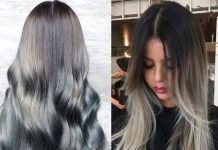 ombre granny hairstyles