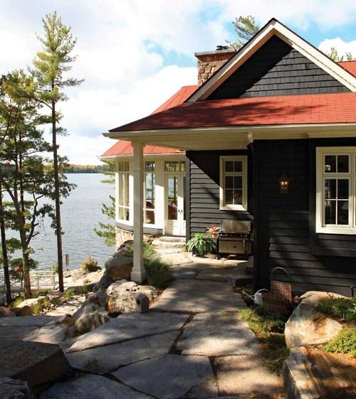 Cabin Paint Colors Interior: How To Pick The Exterior Paint Colors Match Best With The