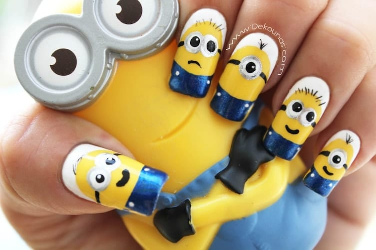 15 Minion Nails That Are Anything But Despicable Style Designs