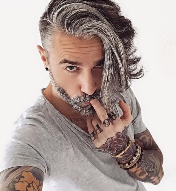 thick hair men undercut