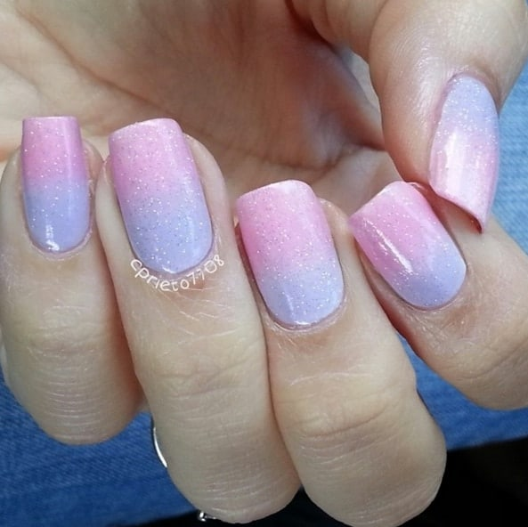 Candy Nail Polish: Sweet Cotton Candy Nail Colors And Designs