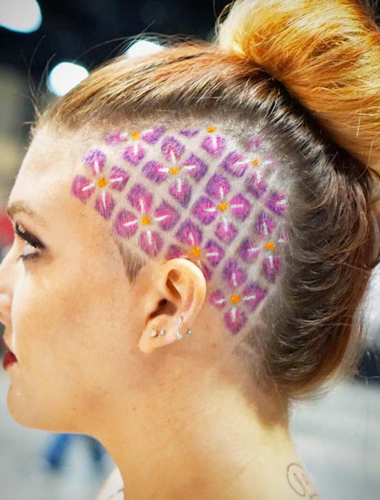 hawiian hair styles 45 undercut hairstyles with hair tattoos for page 4 4587
