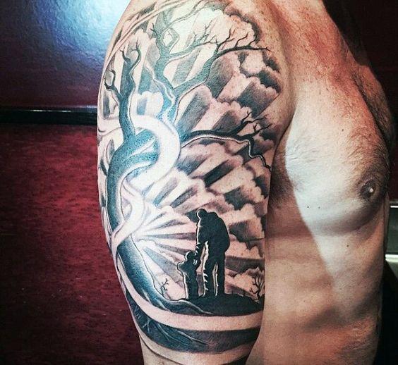 Son Tattoo Ideas: Father And Son Tattoo Ideas