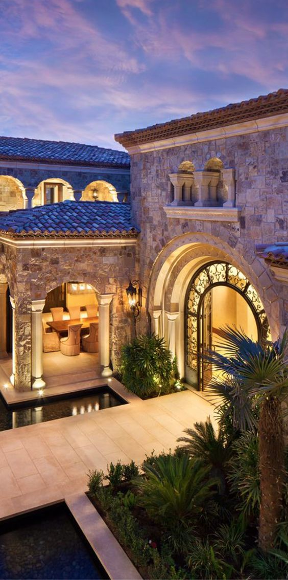 Tuscan interior design ideas style designs for Luxury tuscan house plans