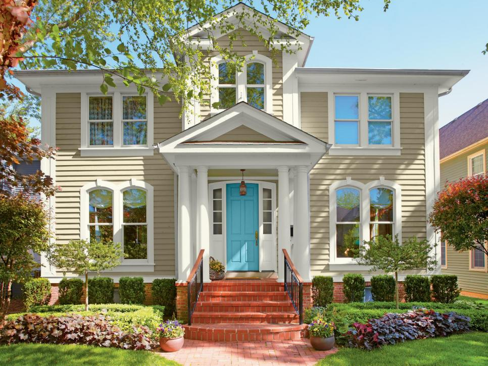 Modern exterior paint colors for houses style designs page 24 - B and q exterior paint property ...