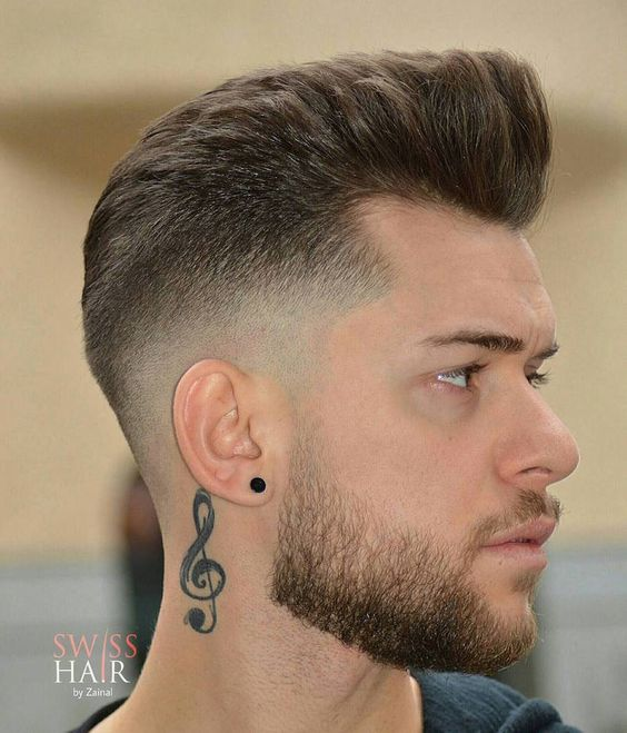 M13ky High Fade And Long Separated Hair On Top