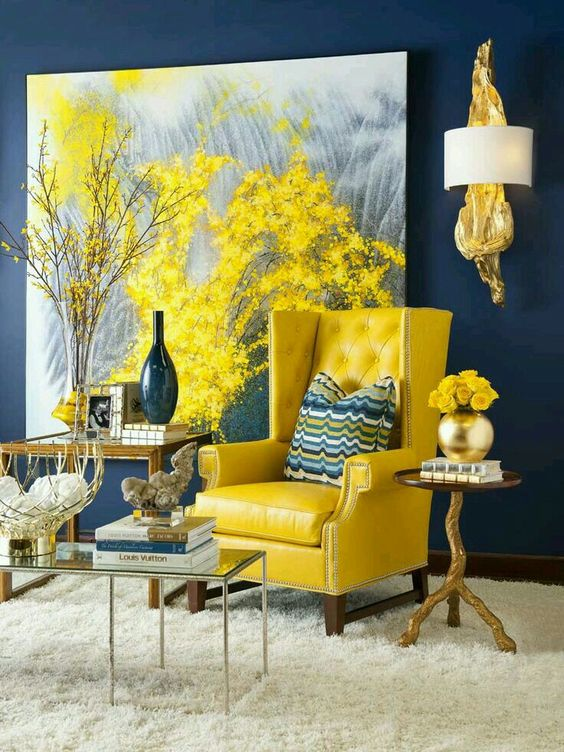 ... Yellow Living Room Décor Is Hard To Find. Source