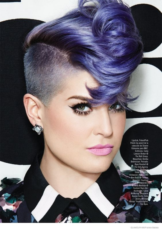 Short Curly Mohawk Hairstyle