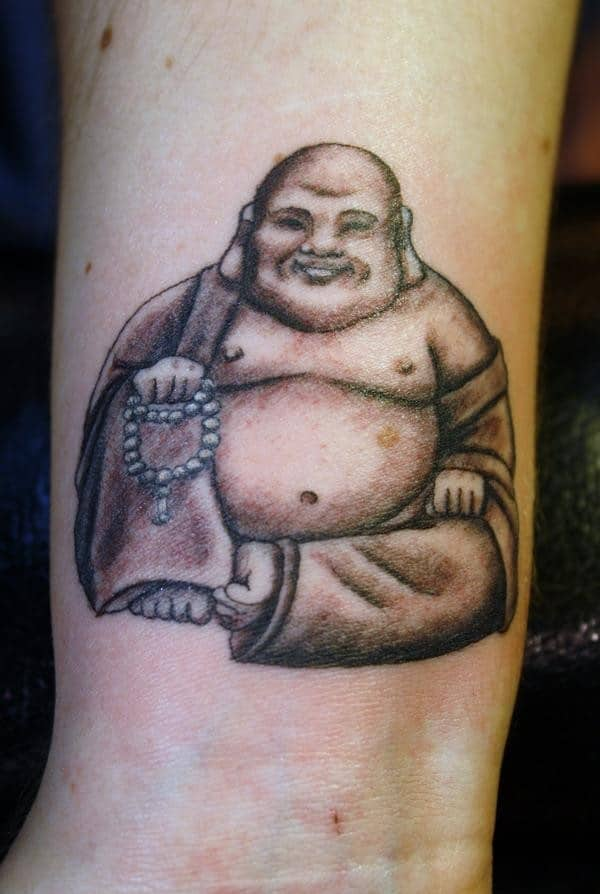 30 most eye catching religious tattoo ideas for men for Can buddhists have tattoos