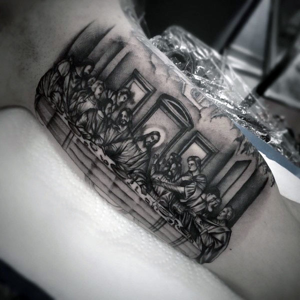 30 most eye catching religious tattoo ideas for men for Are tattoos a sin catholic