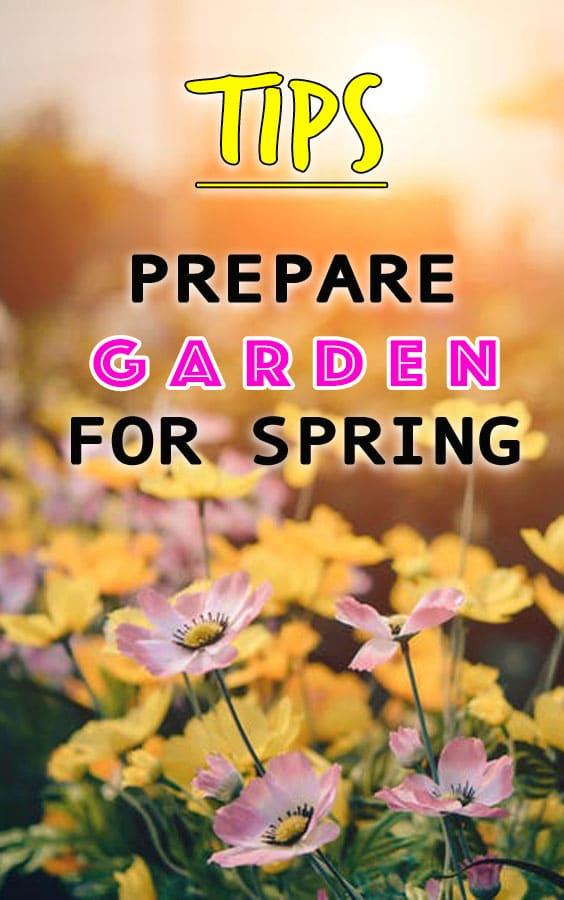 Prepare Garden For Spring