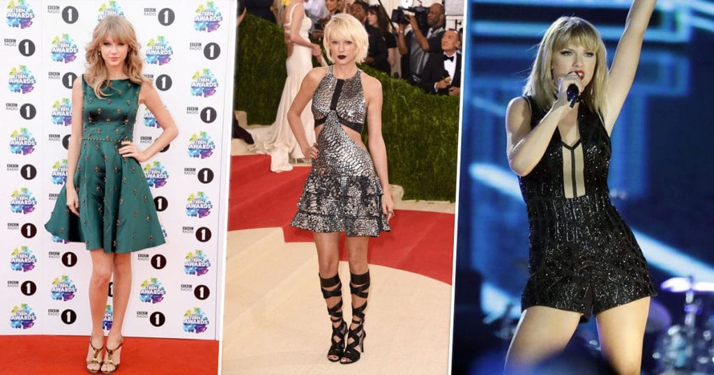 Evolution Of Taylor Swift's Style