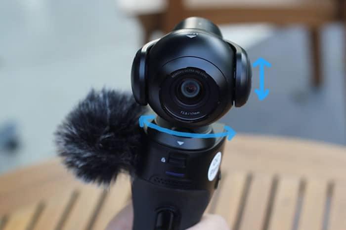 Remove K1 Action camera