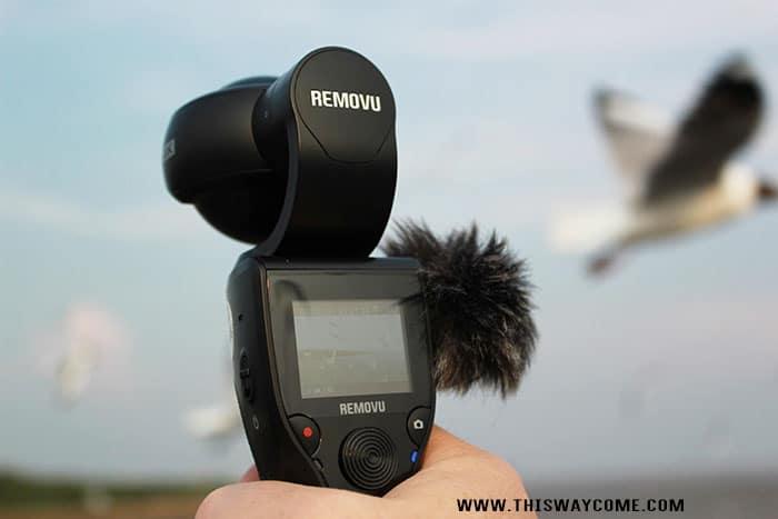 Remove K1 Gimbal Camera