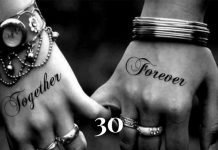 matching tattoo for couple