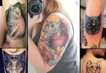 Cat Lovers Tattoo Ideas