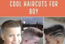boy haircut