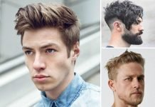 cowlick men hairstyle