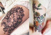 Thigh-Tattoos