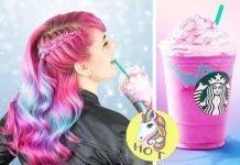 Unicorn style haircolor