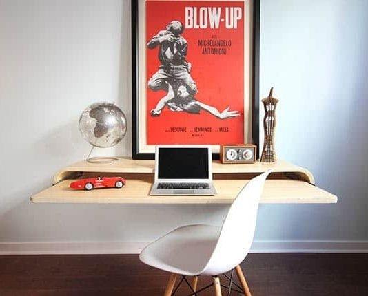 wall mounted table idea