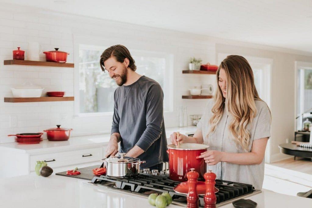 Make a Smaller Kitchen Look Big