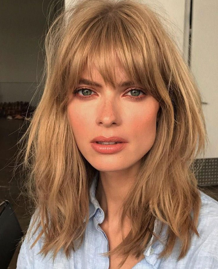 Find The Perfect Type of Bangs Style That Works Best For You!