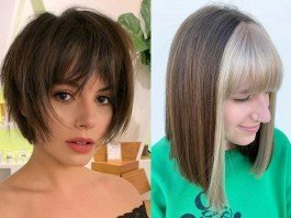 Type of Bangs Style,