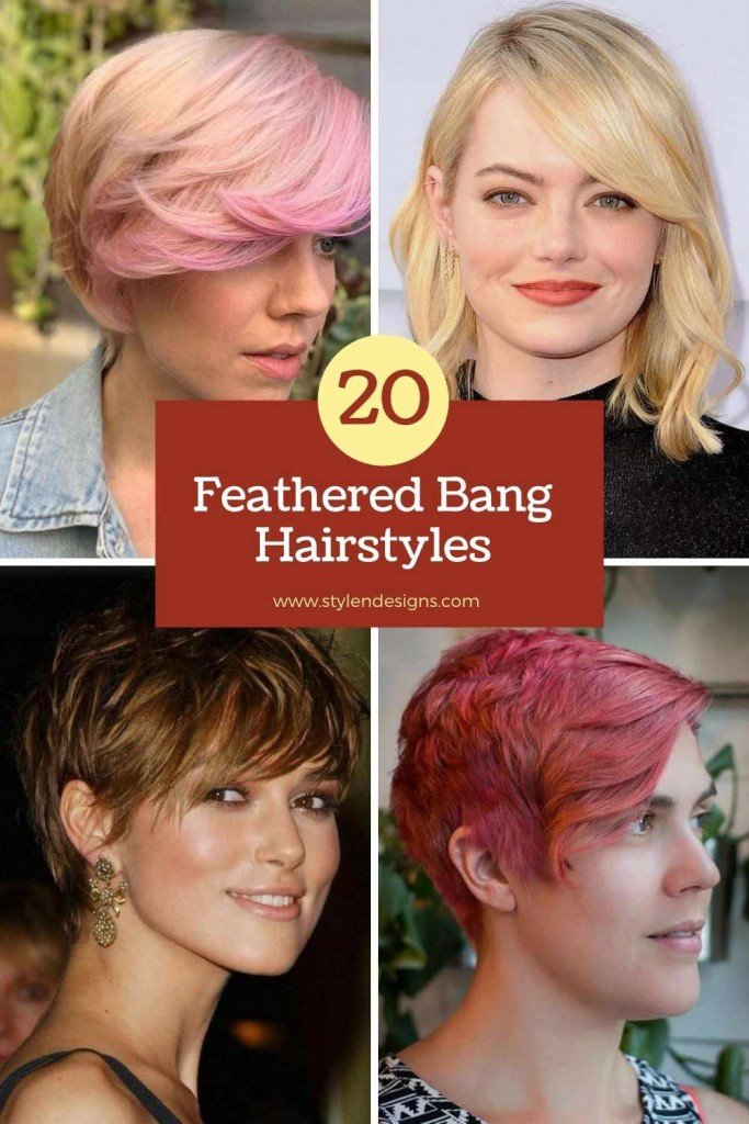 20 All-time Feathered Bangs Hairstyles