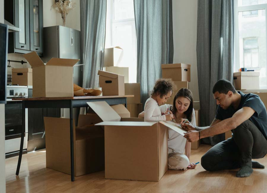 Moving To A New House? Here's How To Make It Stress-free