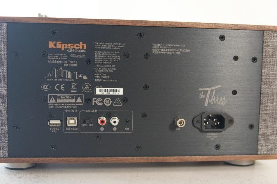 Klipsch the Three ii-Back